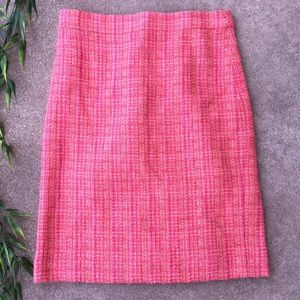 J. Crew Wool Blend Tweed Pencil Skirt